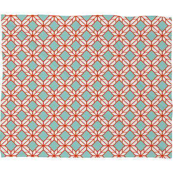 Caroline Okun Astrid Fleece Throw Blanket
