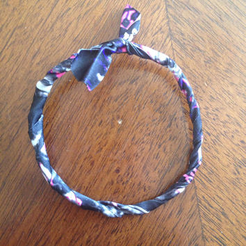 Muddy Girl Camo Wrapped Wire Bracelet