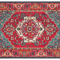 Noella Runner, Red/Turquoise, Area Rugs