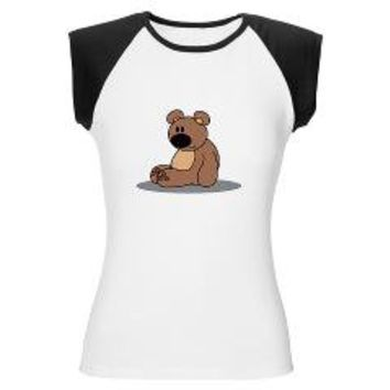 Cuddly bear Women's Cap Sleeve T-Shirt> Cuddly bear> Another Round of Beer Designs