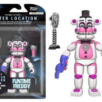Funko Five Nights Fun Time Freddy Articulated Action Figure, 5""