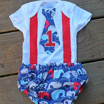 1st birthday outfit boy, 1st birthday shirt,  red and blue outfit, nautical birthday outfit,  Boy 1st Birthday Outfit, Cake Smash Outfit