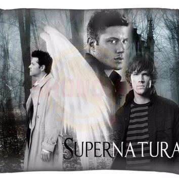 Custom Supernatural Pillowcases Rectangle Zippered Pillow Case High Quality 35x45cm One Side SQ00803-@H02