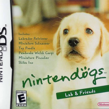 Nintendogs Lab and Friends - Nintendo DS (Game Only)