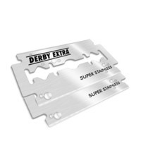 """Derby Extra"" Stainless Steel Double Edge Razor Blades"