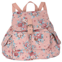 Cabbage Rose Backpack