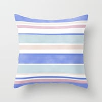 Between The Lines Throw Pillow by sm0w