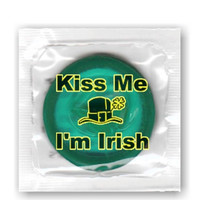 St Patricks Day Condoms - Kiss Me I'm Irish