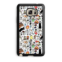 kawaii ghibli doodle samsung galaxy note 5 note edge cases cover