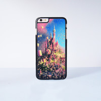 Disney Tangled Castle Plastic Case Cover for Apple iPhone 6 Plus 4 4s 5 5s 5c 6