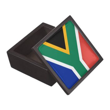South Africa Flag Premium Gift Box