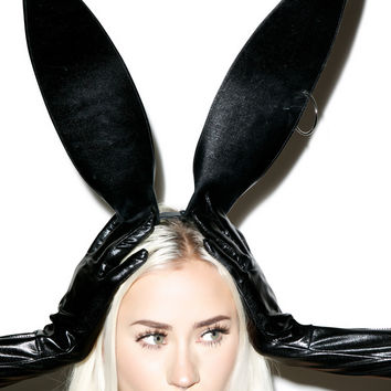 Pierce It Bunny Ears BLACK One