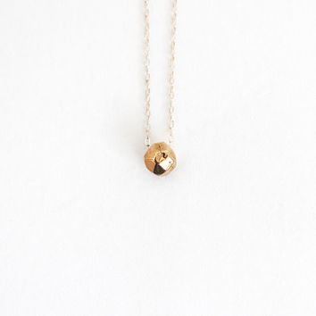 Im-perfect Facet Necklace