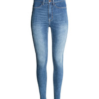 Super Skinny High Jeans - from H&M