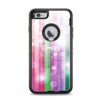 The Unfocused Color Vector Bars Apple iPhone 6 Plus Otterbox Defender Case Skin Set