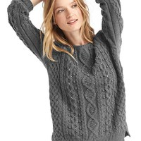 Beaded cable knit sweater | Gap