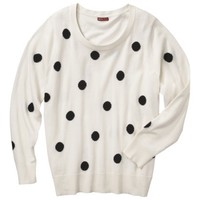Merona® Women's Plus-Size 3/4-Sleeve Pullover Sweater - Assorted Prints