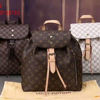 Louis Vuitton Women Casual Daypack School Bag Backpack A-BB-PFLS