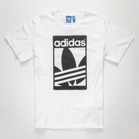 Adidas Street Graphic Mens T-Shirt White  In Sizes