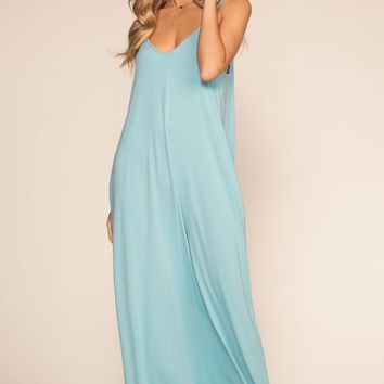 763984df55e2 Tall Mei Lace Up Back V Neck Maxi Dress