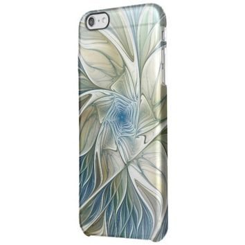 A Floral Dream Pattern Abstract Fractal Art Clear iPhone 6 Plus Case