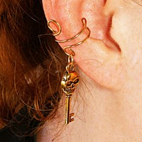 Dead Man's Secret Ear Cuff