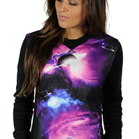 TEDDY GALAXY Women Crewneck