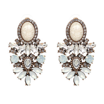 Big Crystal New Statement Fashion Stud Earring