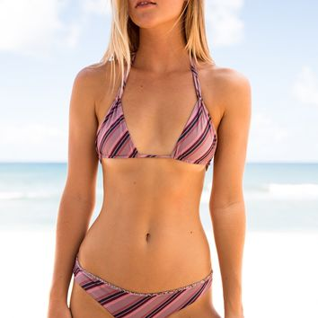 ACACIA Swimwear 2018 Cannons Top in That 70's- Small (last one)