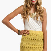 Lace Tiers Skirt $35
