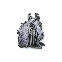 Horse Embroidered Applique Iron on Patch