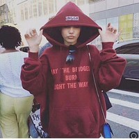 ''VETEMENTS'' Women Men Hot Hoodie Cute Sweater