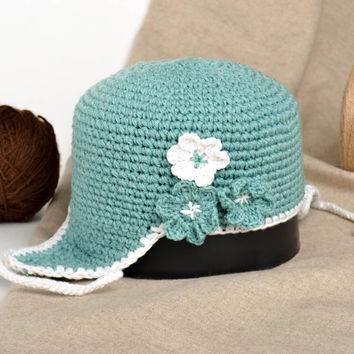 Unusual handmade crochet hat cute baby hats head accessories for kids gift ideas