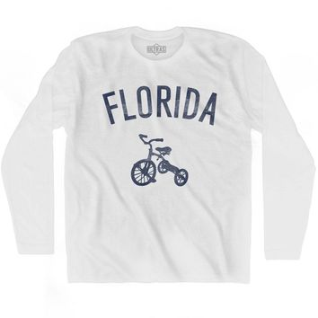 Florida State Tricycle Adult Cotton Long Sleeve T-shirt
