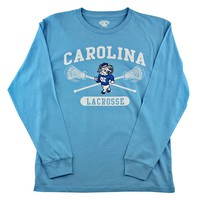 UNC Youth Long Sleeve Lacrosse Tee 2016 | Lacrosse Unlimited