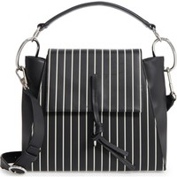 3.1 Phillip Lim Leigh Stripe Top Handle Leather Satchel | Nordstrom