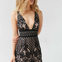 Stylestalker Lani Lace Mini Dress - Urban Outfitters