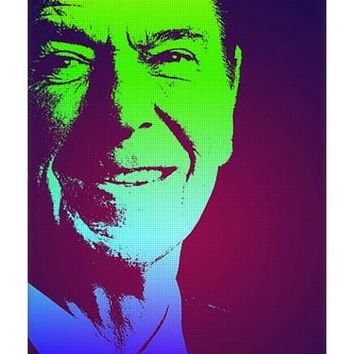Portrait Of President Reagan 1981 Poster - Yoga Mat
