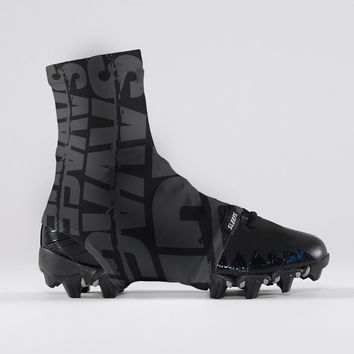 Savage Chroma Black Gray Spats / Cleat Covers
