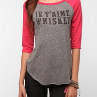 Hometown Heroes Je Taime Whiskey Tee