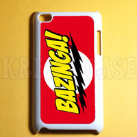 Ipod Touch 4 Case -  Bazinga Ipod 4G Touch Case, 4th Gen Ipod Touch Cases