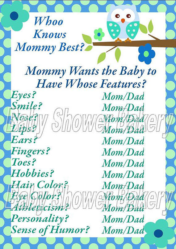 Name That Price Baby Shower Game - Baby Boy Printable Baby ...
