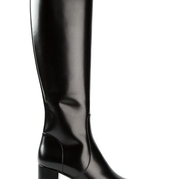 Saint Laurent 'Babies' mid-calf boots