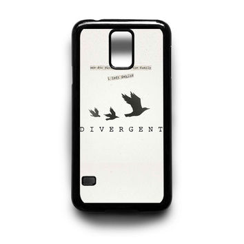 Divergent Tris Tattoo Ravens Quote Samsung Galaxy S3 S4 S5 Note 2 3 4 HTC One M7 M8 Case