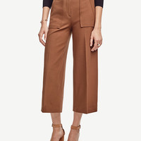Wide Leg Ankle Pants | Ann Taylor