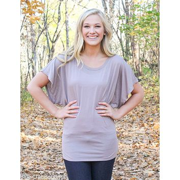 Flowy Dolman Tee - S-2XL - 12 colors