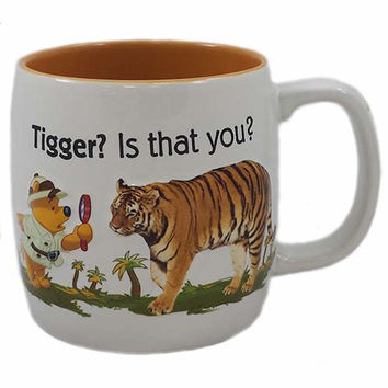 disney animal kingdom winnie tigger? is that you? ceramic coffee mug new