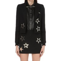 ANTHONY VACCARELLO - Star-detail wool jacket | Selfridges.com