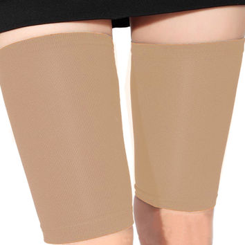 Fashion Skin Color Thin Thigh Leg Shaper Burn Fat Compression Stovepipe Leg Warmer Leg Slimming