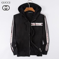 GUCCI Fashion Casual Cardigan Jacket Coat Hoodie-1